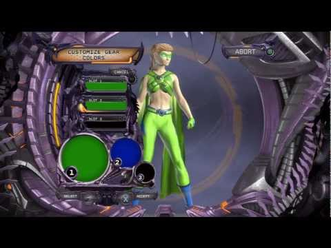 DC Universe Online : Part 1 : Character Creation : Introducing Jasminum : Nature DPS/Healer