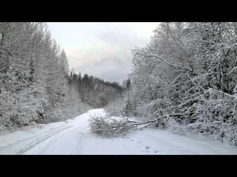 Кушва. Снежные покатушки в окрестностях. 07.11.15 г.