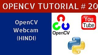 Hindi]OpenCV Tutorial 21 : How to Capture Image Using Webcam