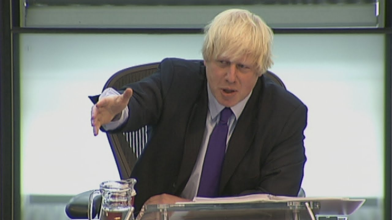Boris Johnson tells London Assembly's Andrew Dismore to
