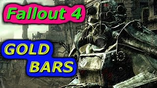 Fallout 4 | GOLD BARS Location in 1080p |