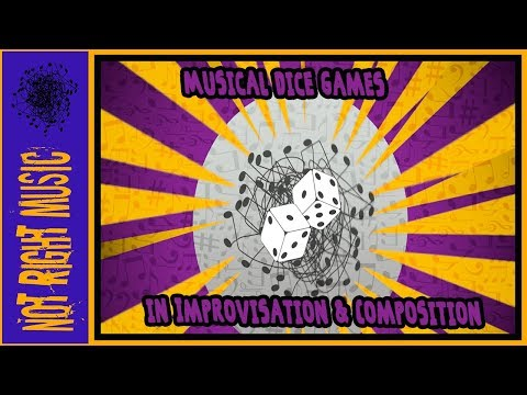 Musical Dice Games in Improvisation & Composition (Music Game)(Fakest Book)