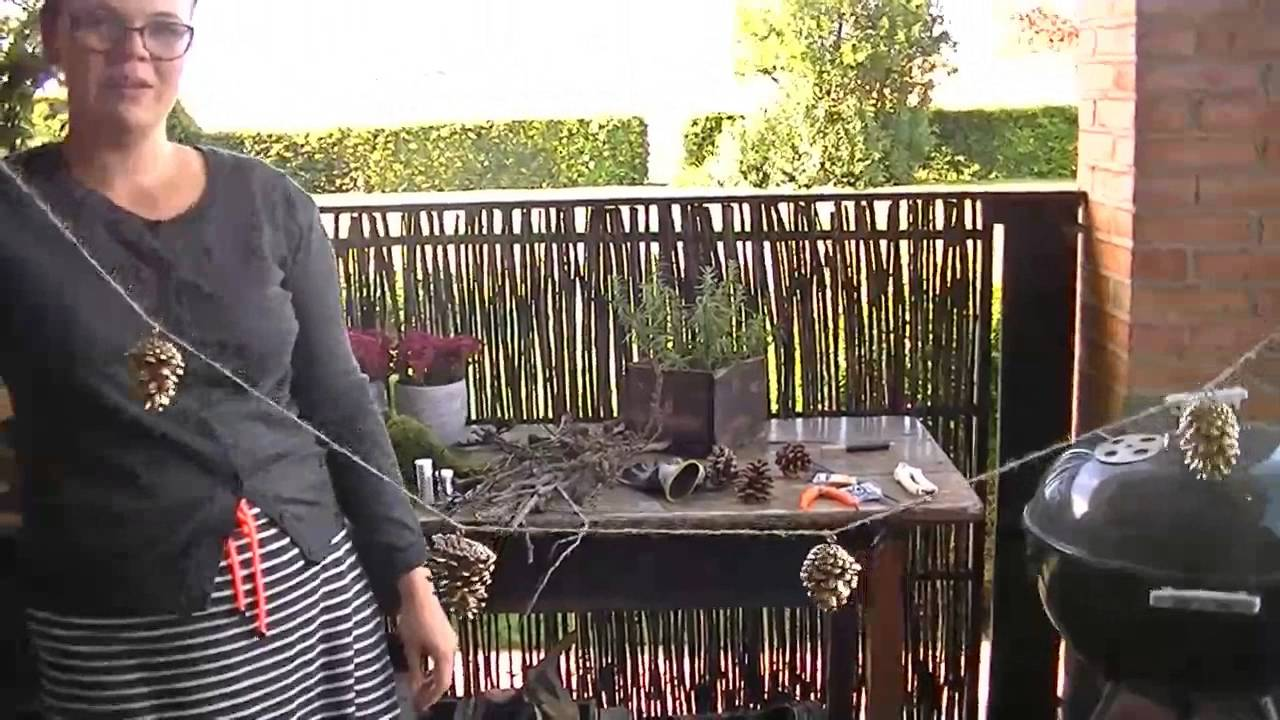 DIY Video: Kogle-guirlande, 2. søndag i advent