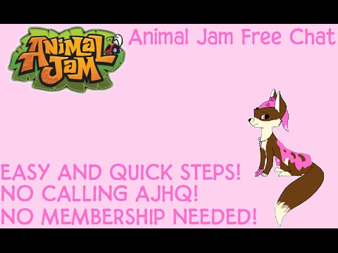ANIMAL JAM - How to Get Free Chat (NO MEMBERSHIP!)