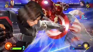 Marvel Vs Capcom Infinite Online Ranked Battles - Captain America and Winter Soldier