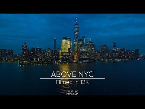 Above NYC - Filmed in 12K