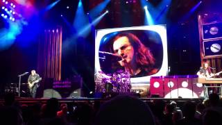Rush - Distant Early Warning Trainwreck - Bristow R40 with audio