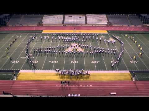"Appalachian State University Marching Mountaineers -  ""Super Heroes Show"""