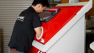非常に面倒な部品のグリス/ オイルの洗浄作業が、高速でクリーニング可能な洗浄機が登場!特別に開発した繰り返し使用可能な専用洗浄液と最高...