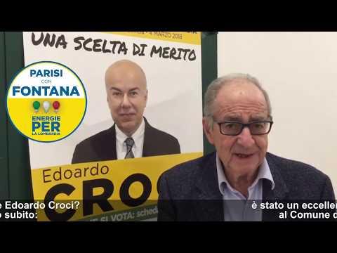 Intervista a Livio Caputo: perchè votare Edoardo Croci