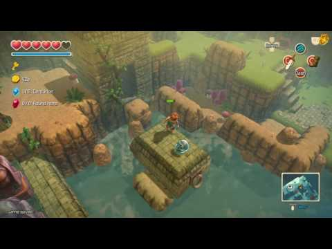 Oceanhorn Island Of Whispers - The Search For The Cursed Skulls Pt5/Battle With Creation No.02