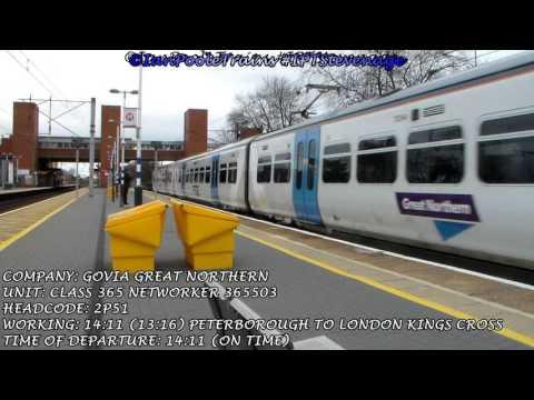 Season 8, Episode 106 - Trains at Stevenage station