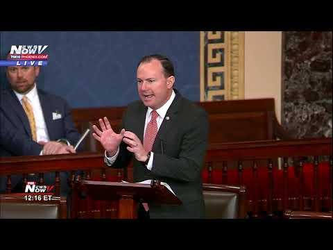 PROTECTING MUELLER BILL BLOCKED - Senator Mike Lee Blocks Jeff Flake