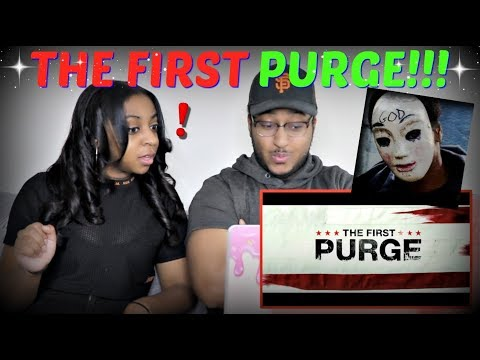 """The First Purge"" – Official Trailer REACTION!!!"