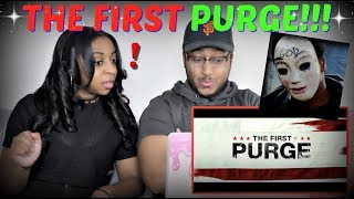 """""""The First Purge"""" – Official Trailer REACTION!!!"""