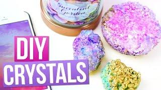 Diy Crystals Using Salt! ♥ Tumblr Room Decorations