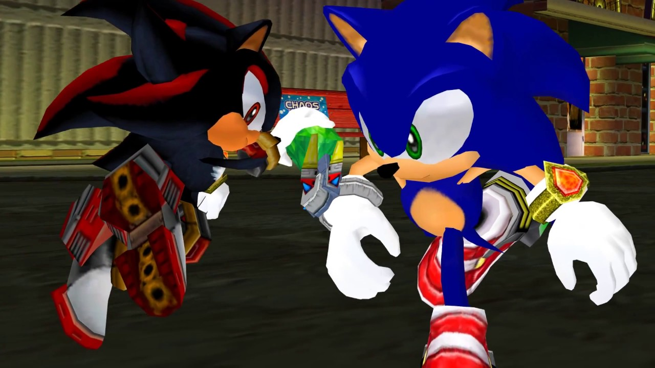 FANDUB) Sonic Adventure 2 EN ESPAÑOL  Shadow aparece - YouTube