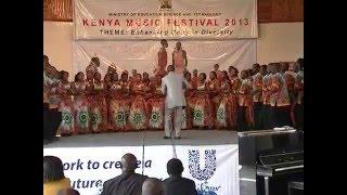 University of Nairobi Choir KMF 2013 - Ombi Langu Conducted by Chris Wekulo