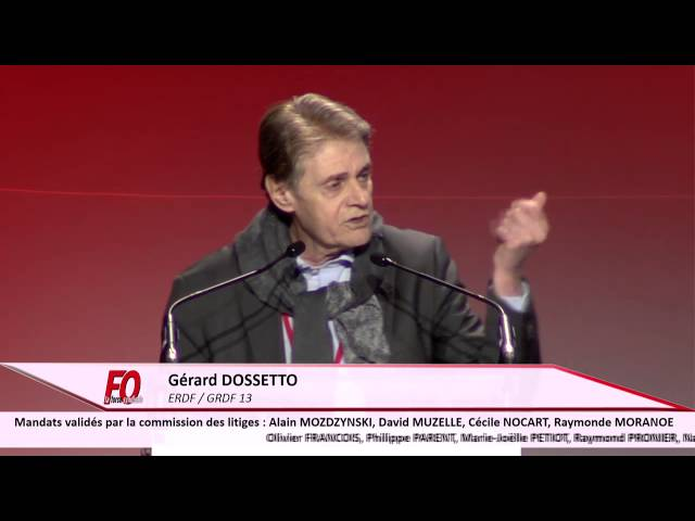 Gérard Dossetto ERDF / GRDF 13