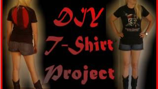 DIY Fashion - How to Cut a Tee Shirt with Style Thumbnail