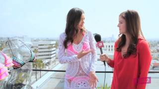 Interview with Victoria Secret Models Miranda Kerr and Candice Swanepoel