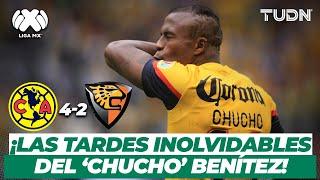 ¡Monumental! América golea con doblete del 'Chucho' Benítez | América 4-2 Jaguares - AP2012 | TUDN