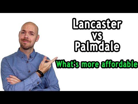 Cost Of Living Lancaster Ca Vs Palmdale Ca