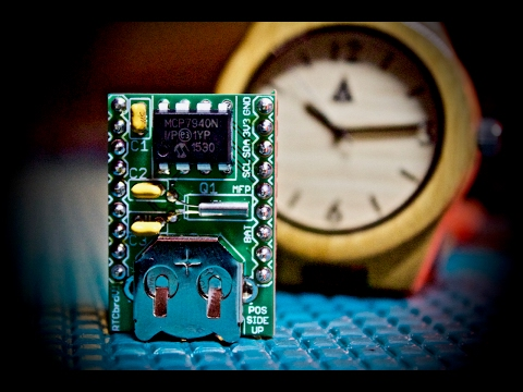RTC (Real Time Clock) with Arduino - Low Cost MCP7940N