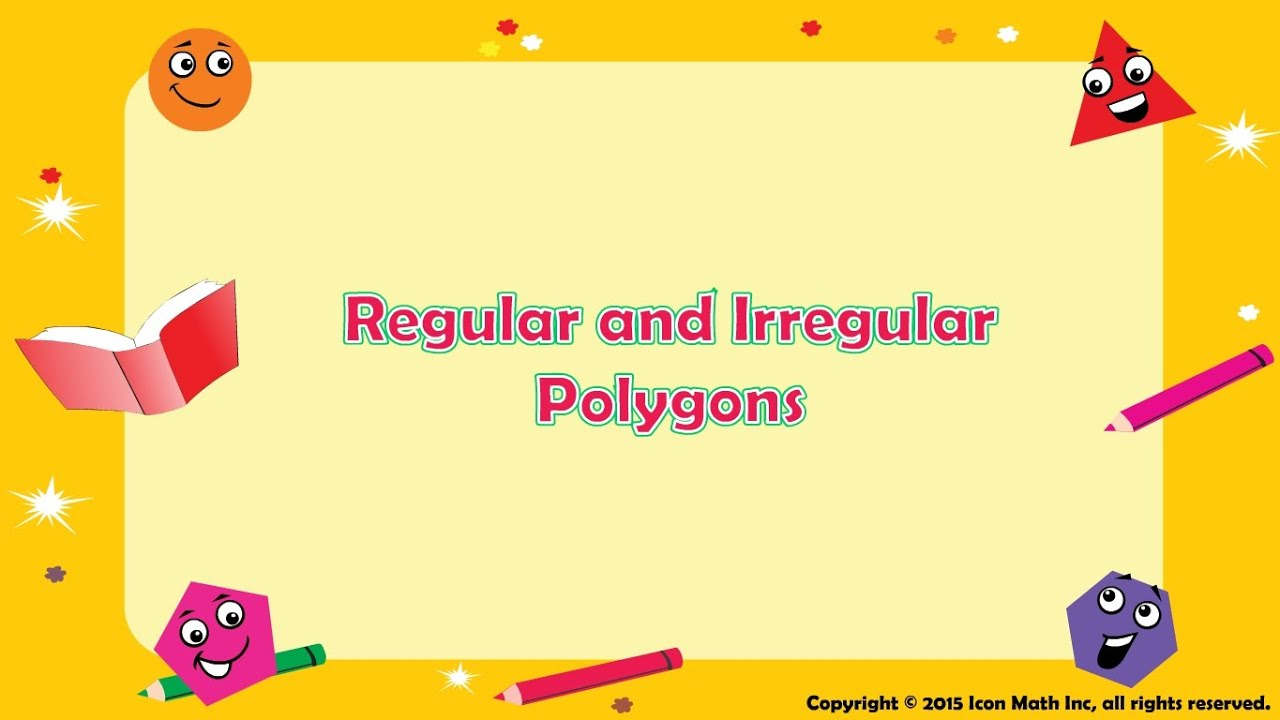hight resolution of Regular \u0026 Irregular Polygons - YouTube