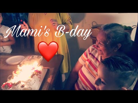 Surprised Mami for her bday