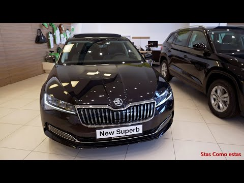 Skoda Superb 2020 In Magic Black Color Simply Superb Youtube