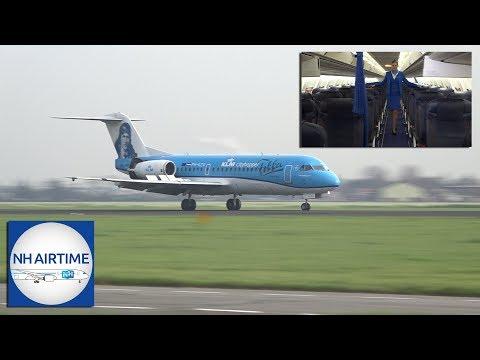 LAST KLM FOKKER 70 AIRCRAFT VISIT