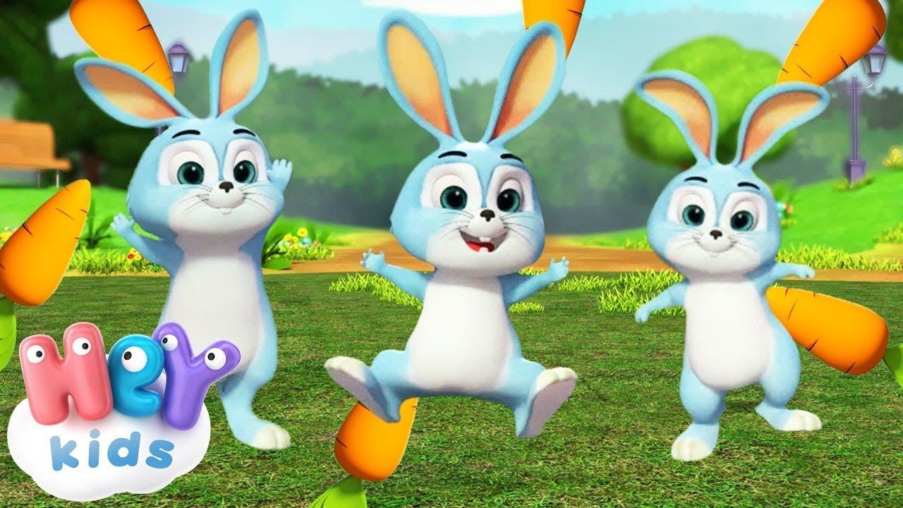 Los Conejos Durmientes 🐰 Las mejores canciones para bebés | HeyKids