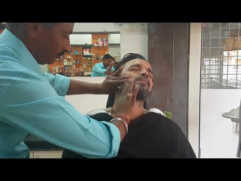 ASMR Barbershop Inaguration Day Face Massage