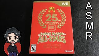 ASMR - Super Mario All-Stars 25th Anniversary Limited Edition Unboxing [Whispering]