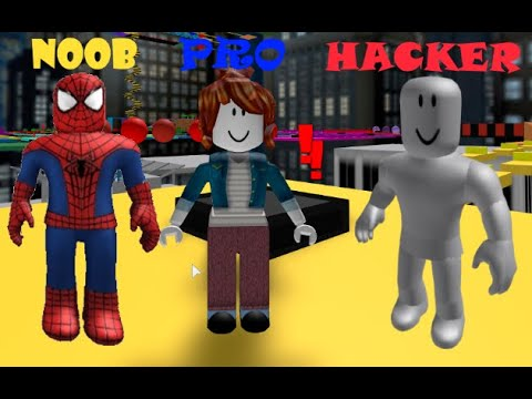 Obby Roblox Games Roblox Spider Games Hack Online Roblox Escape The Youtube Hacker Obby Part 2 Youtube