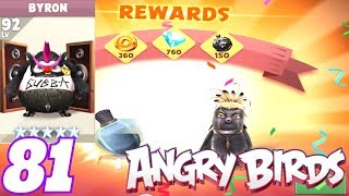 EAGLE MOUNTAIN LEVEL 32 | BRYON LEVEL 92 - ANGRY BIRDS EVOLUTION LET