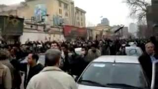 27 Dec 09 Tehran protests against the government of Iran and Khamenei