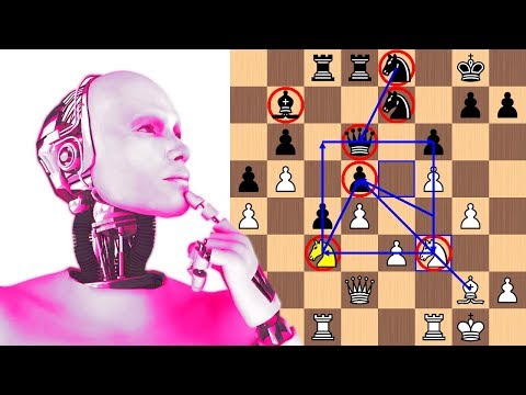 AlphaZero And The Golden Queen Knight