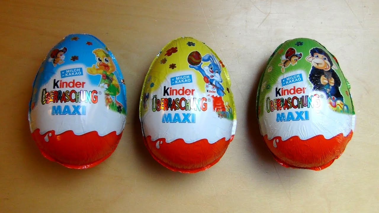 Maxi Kinder Surprise Eggs with Kids Surprise Toy and Disney .