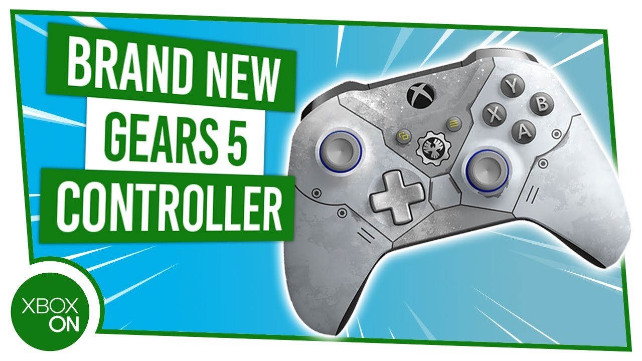 Gears 5 LIMITIERTE AUFLAGE Kait Diaz Xbox One Controller Unboxing! + video