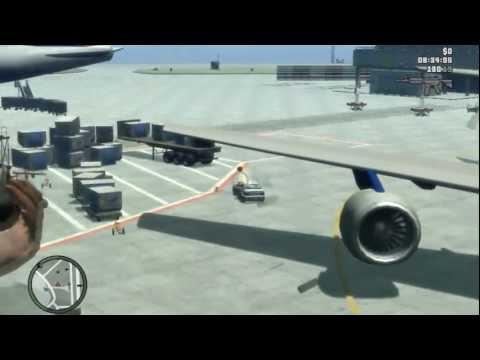GTA 4 Gameplay Airport Scuba Gaming Doovi