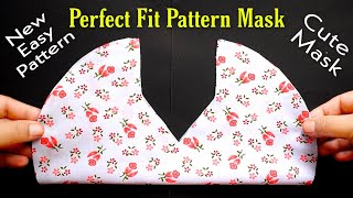 Make New Pattern Mask No Fog On Glasses Face Mask Sewing Tutorial New Style Mask Very Easy