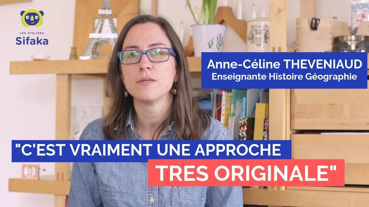 Interview Sifaka : Mme Théveniaud - Professeure d'Histoire Géohraphie