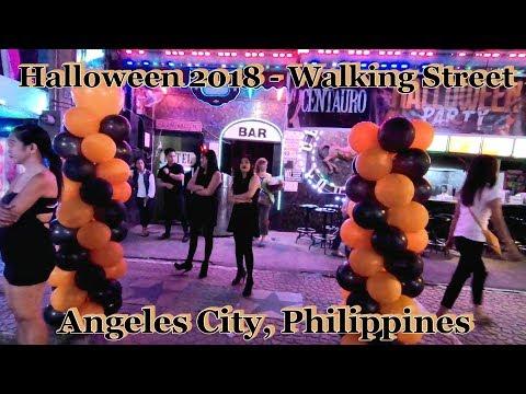 Halloween 2018 - Walking Street : Angeles City, Philippines
