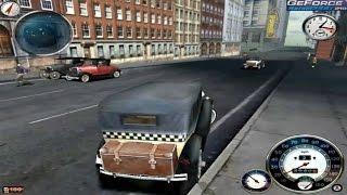 Mafia 1 on Windows 7 (GeForce 210 + E6550) PC Gameplay HD