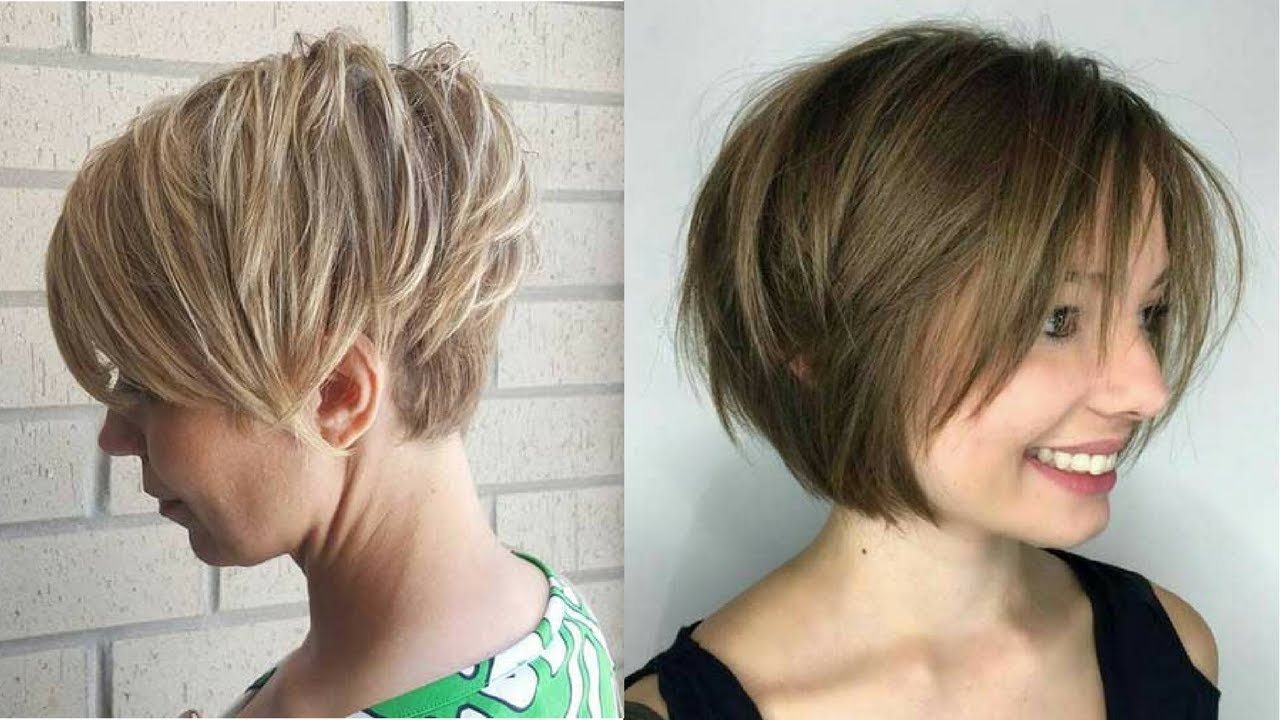 Really Famous Short Layered Haircuts For Women Youtube