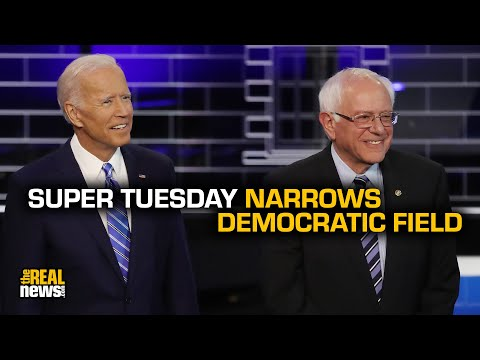 Progressives vs. Establishment: Super Tuesday Narrows Democratic Field