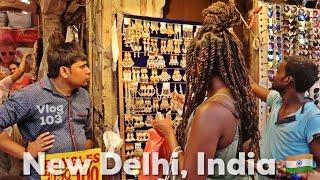 LOCAL MARKET SHOPPING New Delhi India