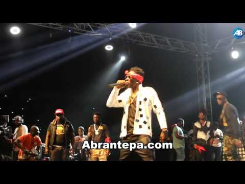 Shatta Wale thrills fans at S Concert 2016